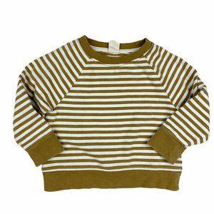 Gray Label Peanut Stripe Sweatshirt 1-2 Years